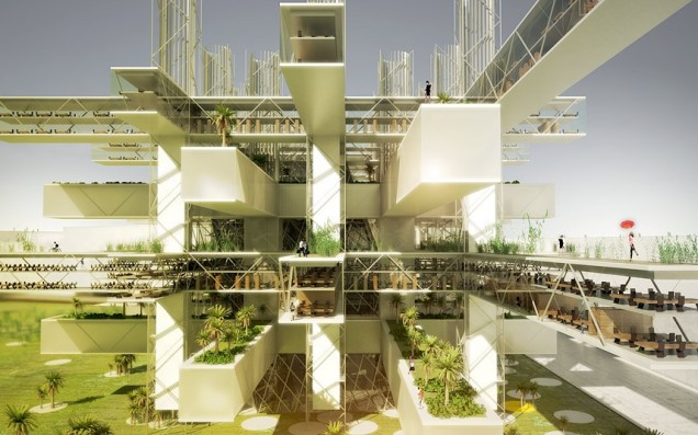 Taichung City Cultural Centre by SANE architecture